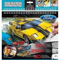 Фото Wooky Альбом с трафаретами Ford GT (07021)
