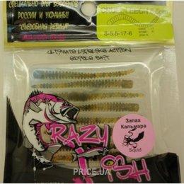Фото Crazy Fish Cruel Leech 5.5cm (Pepper caramel/Кальмар)