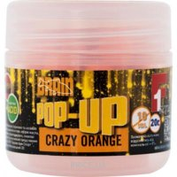 Фото Brain Бойлы Pop-Up F1 (Crazy orange) 10mm 20g