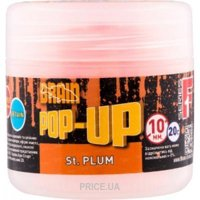Фото Brain Бойлы Pop-Up F1 (St. Plum) 10mm 20g