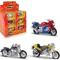 Фото Bburago Мотоциклы в диспенсере (18-51030)