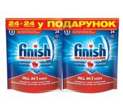 Цены на Таблетки FINISH All in 1 (24+24 шт) FINISH, фото