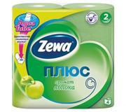 Фото Zewa Туалетная бумага Плюс Зеленая 23м 184 листов 4 рулона 2 слоя