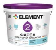 Фото Element Краска Element 2 белая 12 л Водно-дисперси