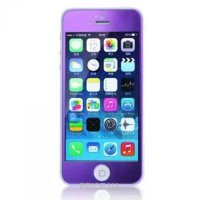 Фото Remax Tempered Glass Colorful Purple Apple iPhone 5S/5/5C 0.2mm