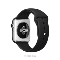 Фото Apple Black Sport Band for Watch 42mm (MJ4Q2)