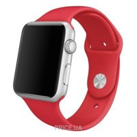 Фото Apple PRODUCT Red Sport Band для Watch 42mm MLDJ2