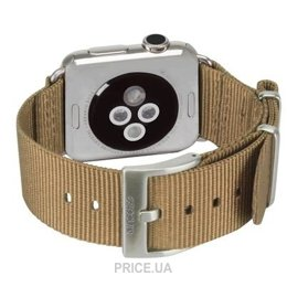 Фото Incase Nylon Nato Band Apple Watch 38mm - Bronze (INAW10011-BRZ)