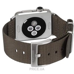 Фото Incase Nylon Nato Band Apple Watch 42mm - Anthracite (INAW10014-ANT)