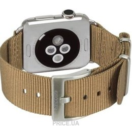 Фото Incase Nylon Nato Band Apple Watch 42mm - Bronze (INAW10014-BRZ)