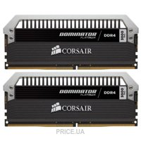Фото Corsair 16GB (2x8GB) DDR4 3000 MHz (CMD16GX4M2B3000C15)