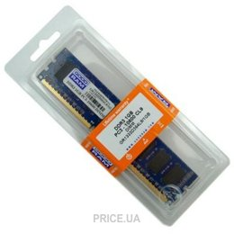 Фото GoodRam 1GB DDR3 1333MHz (GR1333D364L9/1G)