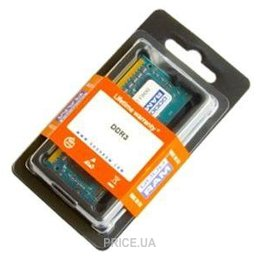 Фото GoodRam 4GB SO-DIMM DDR3 1333MHz (GR1333S364L9/4G)