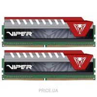 Фото Patriot 16GB (2x8GB) DDR4 2800MHz Viper Elite Red (PVE416G280C6KRD)