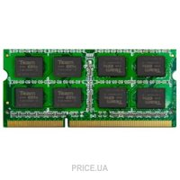 Фото TEAM 2GB SO-DIMM DDR3 1333MHz (TED32GM1333C9-S01)