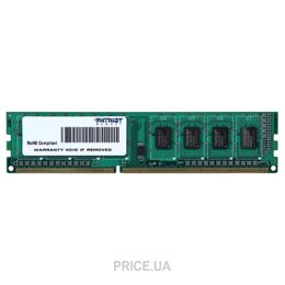 Фото Patriot 4GB DDR3 1600MHz (PSD34G160081)