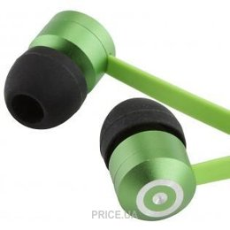 Наушник Наушники KitSound Ribbons earphones green (KSRIBGN)