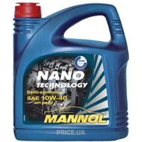 Фото Mannol Nano Technology 10W-40 4л