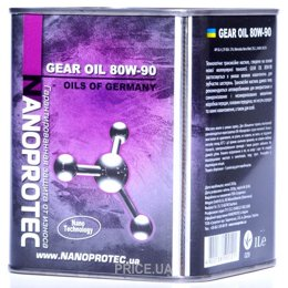 Моторное масло Nanoprotec Gear Oil 80W-90 1л