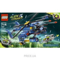 Фото LEGO Alien Conquest 7067 Jet-Copter Encounter