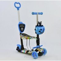Best Scooter 5 в 1 Blue/Graffiti (66040)