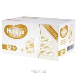 Подгузник Huggies Elite Soft 3 (160 шт.)