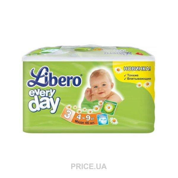 1488122ab892 Libero Everyday 3 4-9 кг (46 шт.)  Купить в Запорожье - Сравнить ...