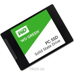Фото Western Digital SSD Green 120GB (WDS120G1G0A)