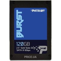 Фото Patriot Burst 120GB (PBU120GS25SSDR)