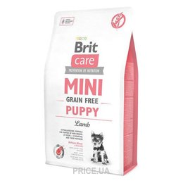 Фото Brit Care Mini Grain-Free Puppy Lamb 2 кг