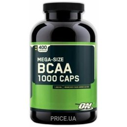 Аминокислоту Optimum Nutrition BCAA 1000 Caps 400 caps