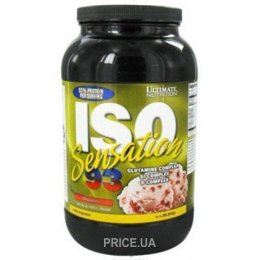 Фото Ultimate Nutrition ISO Sensation 900 g