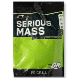 Гейнер Optimum Nutrition Serious Mass 5455 g