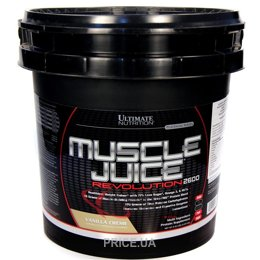 Гейнер Ultimate Nutrition Muscle Juice Revolution 2600 5040 g