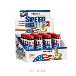 Фото Weider Speed Booster Plus 2 20x25 ml
