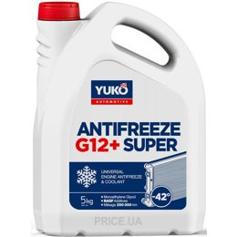 Антифриз Yuko Antifreeze -40 (Super G12+) 5