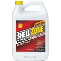 SHELL Zone Dex-Cool Extended Life Antifreeze/Coolant красный антифриз, 3,785 л