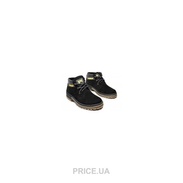 CAT Мужские ботинки на меху CAT черные F13044  Купить в Украине ... 243ce38722961