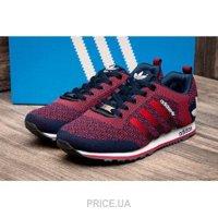0ba3fa3ce322 Кроссовок, кед мужской Adidas Мужские кроссовки Adidas V Racer красные с  темно-синим E2484