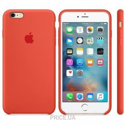 Фото Apple iPhone 6s Plus Silicone Case - Apricot (MM6F2)