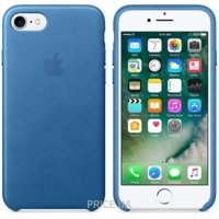 Apple iPhone 7 Leather Case - Midnight Blue (MMY42)