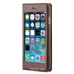 Фото X-Fitted Privacy Big Window для iPhone 6/6s Brown (P6QJZ)