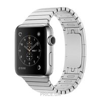 Фото Apple Watch Series 2 42mm Stainless Steel Case with Stainless Steel Link Bracelet Band (MNPT2)