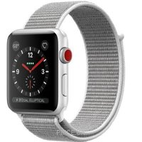 Фото Apple Watch Series 3 (GPS) 42mm Silver Aluminum w. Seashell Sport L. (MQK52)