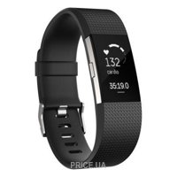 Фото Fitbit Charge HR 2 Small (Black/Silver)
