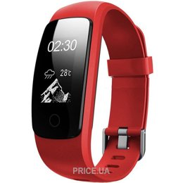 UWatch ID107 Plus HR (Red)