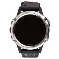 Фото Garmin Fenix 5 Plus Glass Silver with Black Band (010-01988-11)