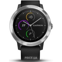 Фото Garmin Vivoactive 3 Silver with Black Hardware (010-01769-00)