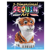 Фото Sequin Art 3D Tiger (SA1122)