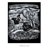 Фото Sequin Art ARTFOIL SILVER Sheepdog and Lamb (SA0606)